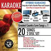 Karaoke: Greatest Country Love Songs with /  Var , Various Artists