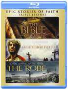 BIBLE / GREATEST STORY EVER TOLD / ROBE (Blu-Ray) at Kmart.com