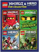 Lego: Ninjago & Hero Factory (DVD) at Kmart.com