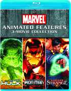 Marvel Animated Features: 3-Movie Collection (Blu-Ray) at Kmart.com
