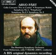 "Arvo P?rt: Cello Concerto ""Pro et Contra""; Perpetuum Mobile; Symphonies Nos. 1-3 (CD) at Kmart.com"