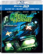 Green Hornet in 3D (3-D BluRay + DVD) at Kmart.com