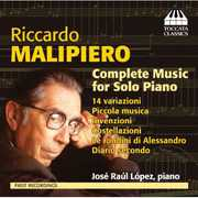 Riccardo Malipiero: Complete Music for Solo Piano (CD) at Kmart.com