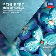 Virtuoso: Schubert Moments Musicaux-Piano Sonata , Alfred Brendel