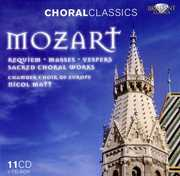 Mozart: Requiem; Masses; Vespers; Sacred Choral Works (CDs 1-3 of 11) (CD) at Kmart.com