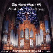 Great Organ of St. Patrick's Cathedral (CD) at Kmart.com