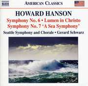 "Howard Hanson: Symphony Nos. 6 & 7 ""A Sea Symphony""; Lumen in Christo (CD) at Sears.com"