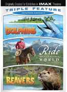 Amazing Animals Triple Feature: Dolphins/Ride Around the World/Beavers (DVD) at Sears.com