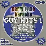Party Tyme Karaoke: Guy Hits 1 /  Various , Party Tyme Karaoke