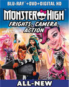 MONSTER HIGH: FRIGHTS CAMERA ACTION (Blu-Ray + DVD + Digital Copy + UltraViolet) at Kmart.com