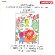 Saint-Sa?ns: Carnival of the Animals; Wedding Cake; Mozart: A Musical Joke (CD) at Kmart.com