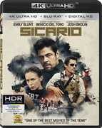 Sicario   [4K Ultra HD + Blu-ray + Digital HD] , Emily Blunt
