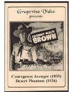 Courageous Avenger (1935) / Desert Phantom (1936) (DVD) at Kmart.com