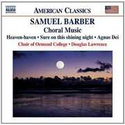 Samuel Barber: Choral Music (CD) at Kmart.com