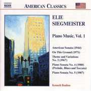 Elie Siegmeister: Piano Music (CD) at Kmart.com