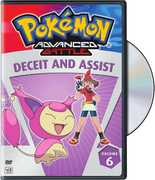 Pokemon Advanced Battle, Vol. 6: Deceit and Assist (DVD) at Sears.com