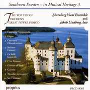 Southwest Sweden, Its Musical Heritage 3: The Top Ten of Sweden's Great Power Period (CD) at Sears.com