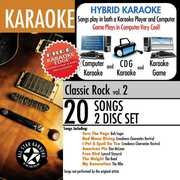 Karaoke: Classic Rock with Karaoke Edge 2 /  Var , Various Artists