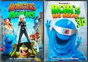 Ginormous Double Pack: Monsters vs. Aliens/B.O.B.'s Big Break in Monster 3D (DVD) at Kmart.com