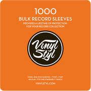 """Vinyl Styl 7 9/ 16"""" X 7 5/ 8"""" Poly Sleeve 1000 Bulk Pak"""