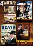 4 Western Films: Kid Vengeance/Grand Duel/Death Rides a Horse/God's Gun (DVD) at Kmart.com
