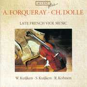 Late French Viol Music: A. Forqueray, Ch. Dolle (CD) at Sears.com