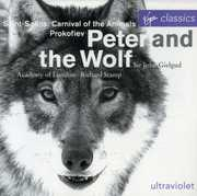 Prokofiev: Peter & the Wolf; Saint-Sa?ns: Carnival of the Animals (CD) at Kmart.com