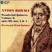 Anton Reicha: Woodwind Quintets Vol. 2: Opus 88, Nos. 3 & 4 (CD) at Sears.com