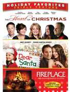 Heart of Christmas/Dear Santa/Fireplace (DVD) at Kmart.com