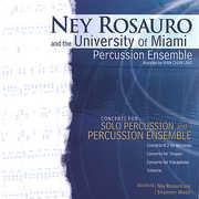Ney Rosauro & University of Miami Percussion Ensem (CD) at Kmart.com