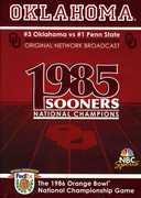 Oklahoma 1986 Orange Bowl National Championship Game (DVD) at Sears.com