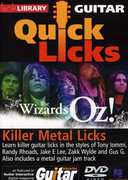 Lick Library: Guitar Quick Licks - The Wizards of Oz! Killer Metal Licks (DVD) at Kmart.com
