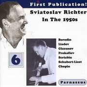 Sviatoslav Richter in the 1950s, Vol. 6 (CD) at Sears.com
