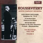 Vaughan Williams: Symphony No. 5; Tchaikovsky: Francesca da Rimini; Mussorgsky: A Night on Bare Mountain (CD) at Sears.com