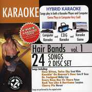 Hair Bands with Karaoke Edge /  Various (2PC) , Various Artists