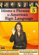 Idioms & Phrases in American Sign Language, Vol. 5 (DVD) at Kmart.com