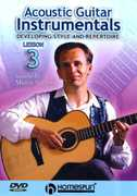Acoustic Guitar Instrumentals, Vol. 3: Developing Style and Repertoire (DVD) at Kmart.com