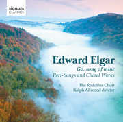 Go, Song of Mine: Part-Songs and Choral Works by Edward Elgar (CD) at Sears.com
