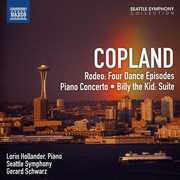 Copland: Rodeo, Four Dance Episodes; Piano Concerto; Billy the Kid Suite (CD) at Kmart.com