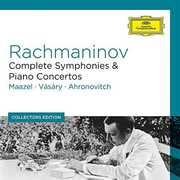 Coll Ed: Rachmaninoff Complete Symphonies & Piano