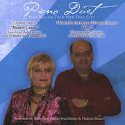 Piano Duet New Ballets from New York City (CD)