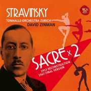 Stravinsky: Le Sacre Du Printemps (2PC) [Import] , David Zinman