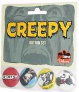 Creepy Button 4PK No. 1