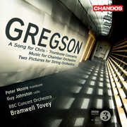 Edward Gregson: A Song for Chris; Trombone Concerto; Music for Chamber Orchestra (CD) at Sears.com