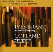 Ives/Brant: A Concord Symphony; Copland: Organ Symphony (SACD-Hybrid) at Sears.com