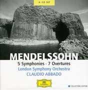 5 Symphonies 7 Overtures , Claudio Abbado