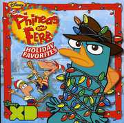 Phineas & Ferb Holiday Favorites (CD) at Kmart.com