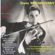 Tossy Spivakovsky: Live Performances with the New York Philharmonic, 1943-1962 (CD) at Kmart.com