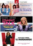 Big Business/Straight Talk/V.I. Warshawski (DVD) at Sears.com