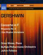 Gershwin: Concerto in F; Rhapsody No. 2; I Got Rhythm Variations (BluRay Audio) at Sears.com